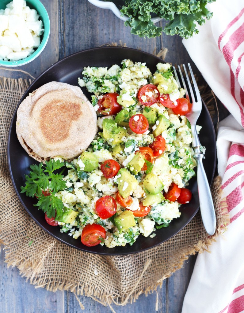 Kale-and-Quinoa-Eggwhite-Scramble-or