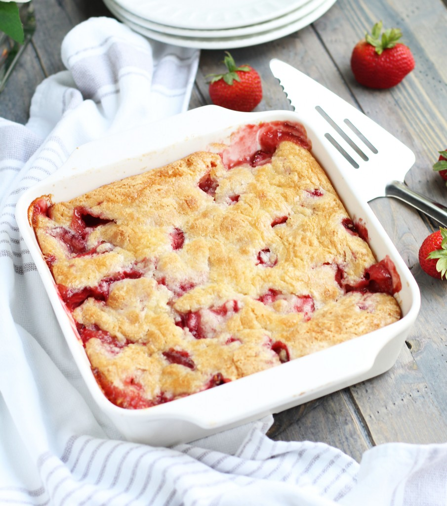 Strawberry-Rhubarb-cobbler