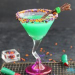 Melted Witch Martini