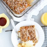 Pumpkin Cinnamon Roll French Toast Bake