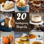 20 Thanksgiving Desserts