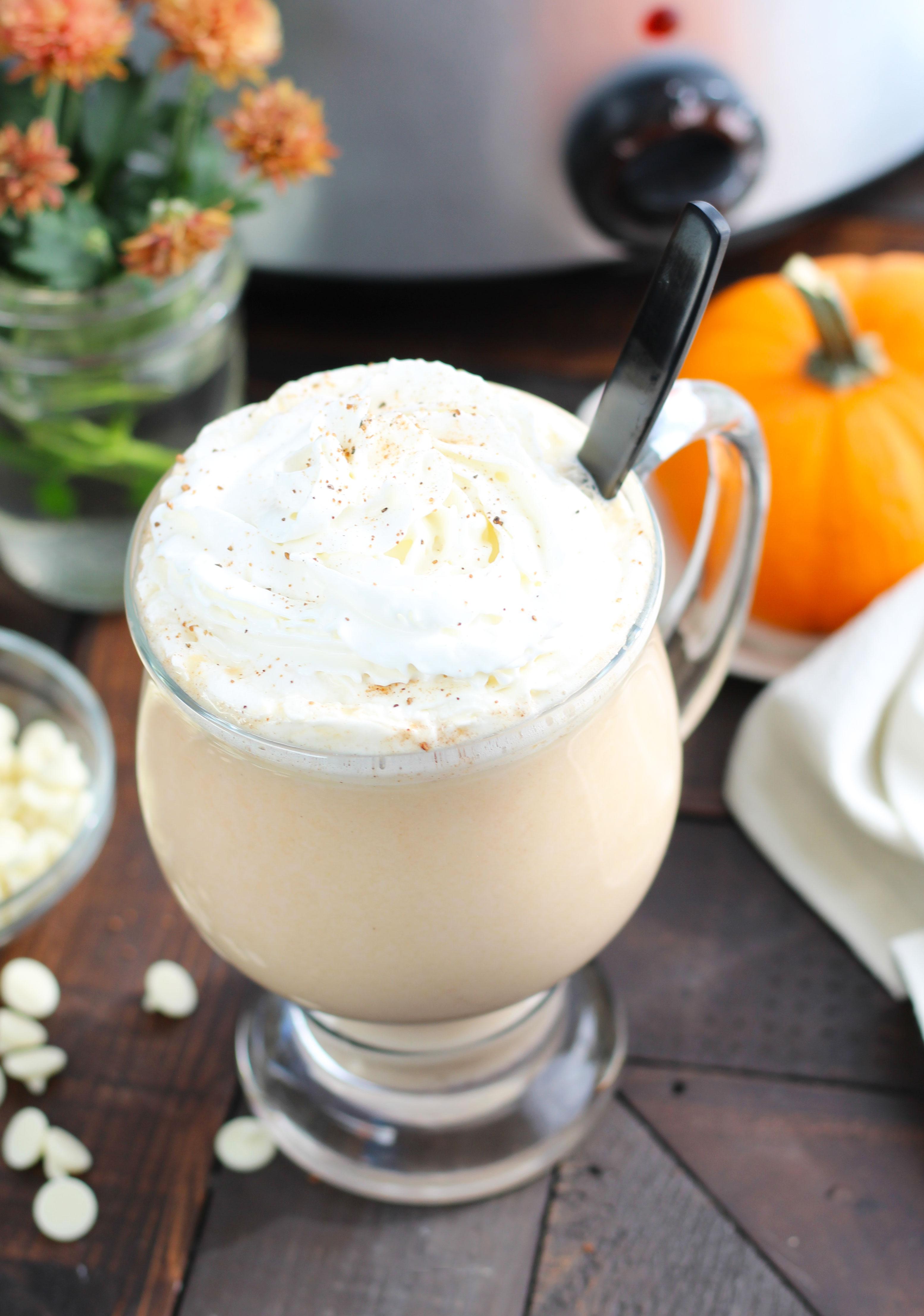 Pumpkin Spice Hot Chocolate Crock Pot