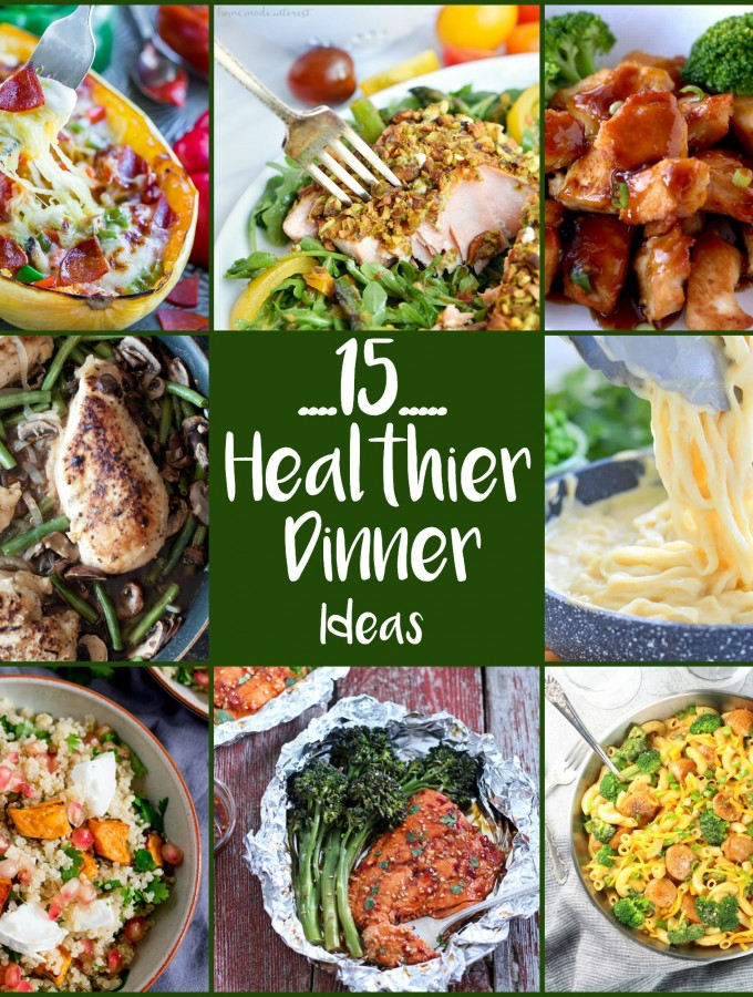 These 15 Healthier Dinner Ideas are the perfect way to jump-start the new year with low-carb, lean protein and healthier cooking styles.