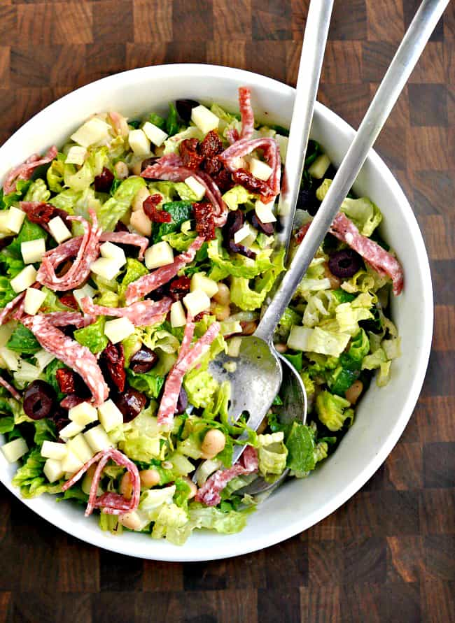 Italian-Chopped-Salad-served