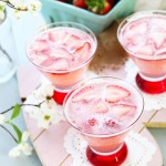 A Pretty in Pink Martini is so flavorful and perfect for Valentine's Day, baby or wedding showers!