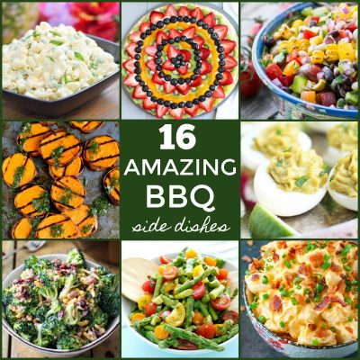 These 16 Amazing BBQ Side Dishes are perfect for summer entertaining!