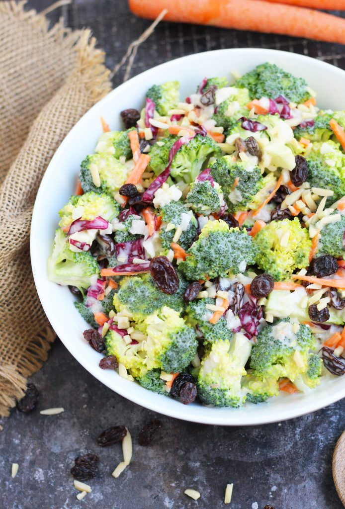Broccoli Slaw Salad 3 Yummy Tummies