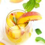 Fuzzy Navel Peach Sangria