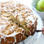 Apple Buttermilk Brunch Cake