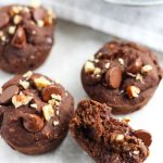 Black Bean Brownie Bites