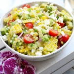 Corn Salad with Avocado