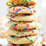 These Funfetti Cookies are the perfect combination of soft and chewy. Vanilla pudding gets added for additional flavor and moisture. Plenty of festive sprinkles makes them a great addition for everyday enjoyment or special celebrations.